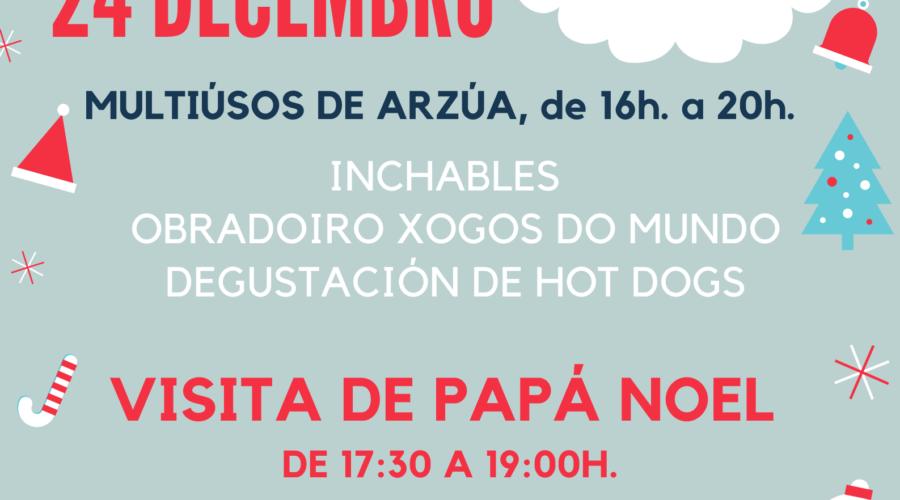 FESTA DE PAPÁ NOEL 2019 ORGANIZADA POR AECA