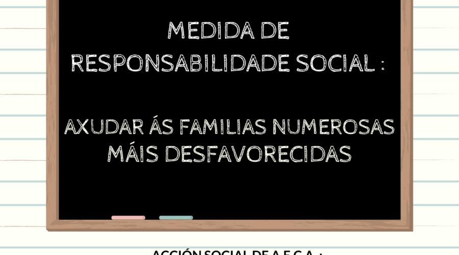 """AECA PON EN MARCHA UNHA OBRA SOCIAL NA SUA CAMPAÑA DE """"VOLTA AO COLE"""""""