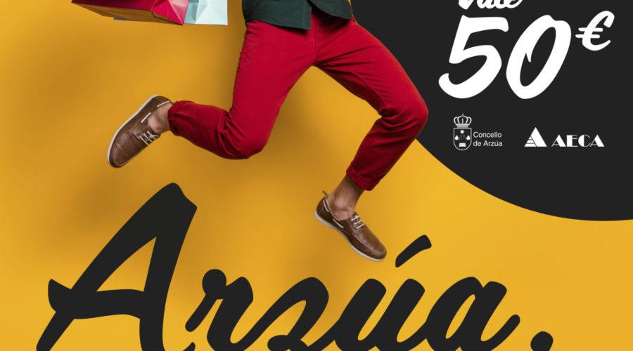 """Comeza """"ARZÚA A TÚA TENDA""""; unha campaña para promover o consumo local coa emisión de 750 BONOS"""